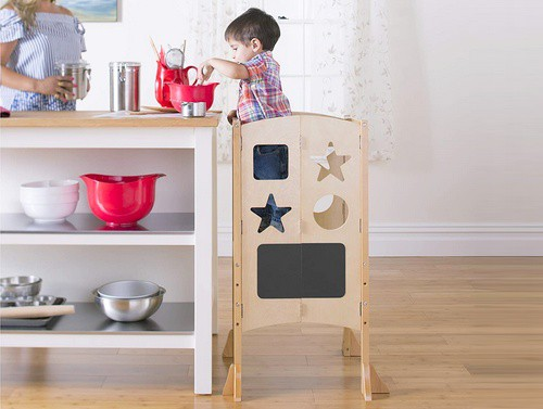 foldable kitchen learning tower
