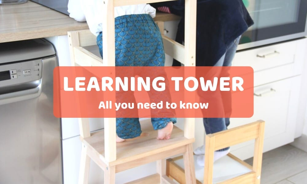 Montessori learning tower