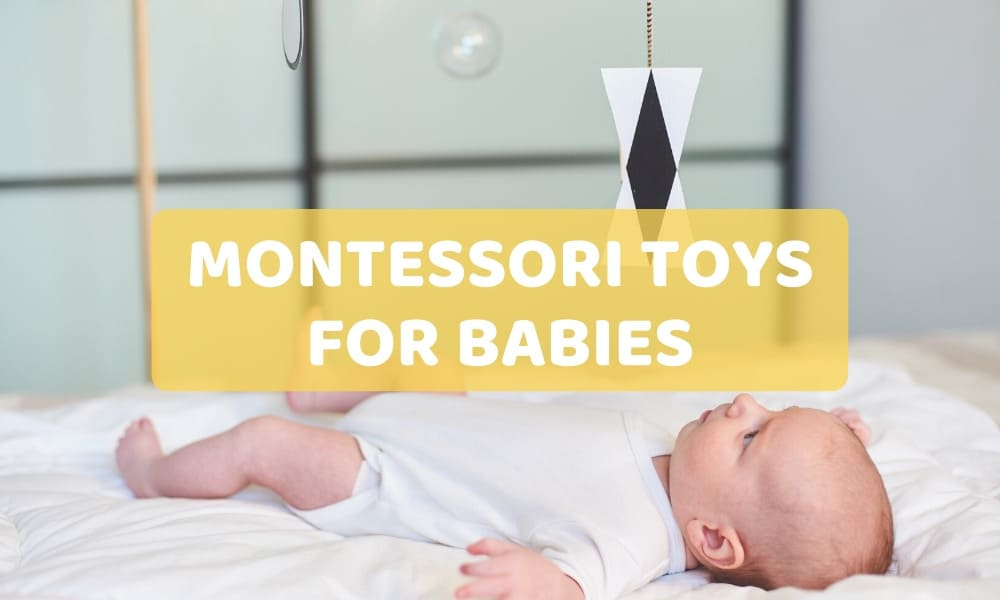 Montessori toys for babies and infants