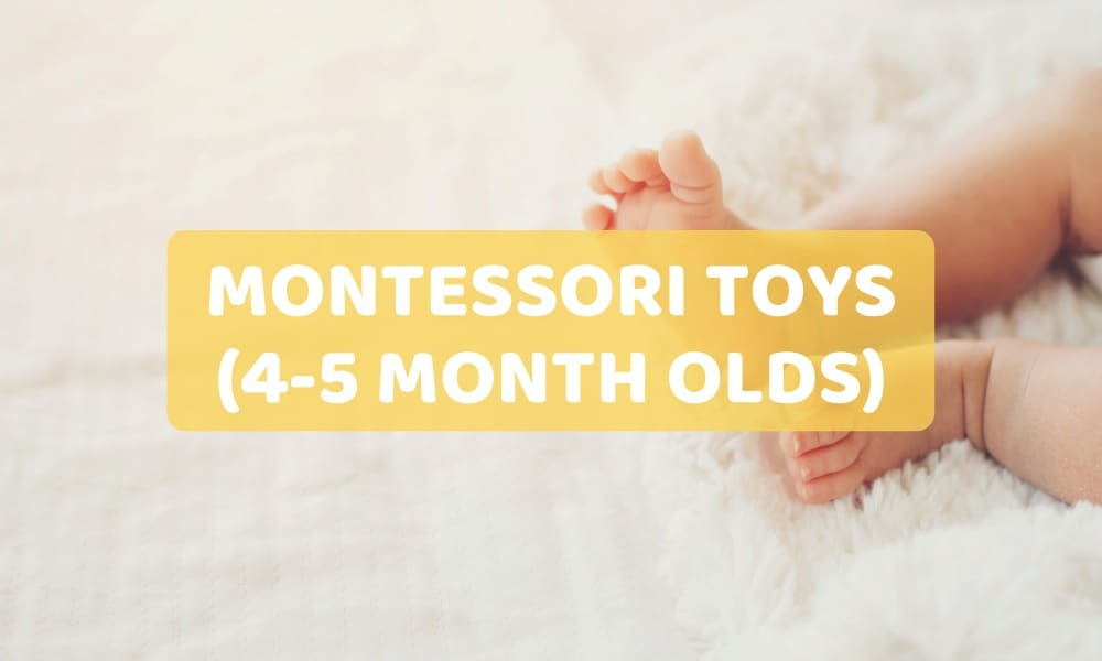 montessori toy for 4-5 month olds