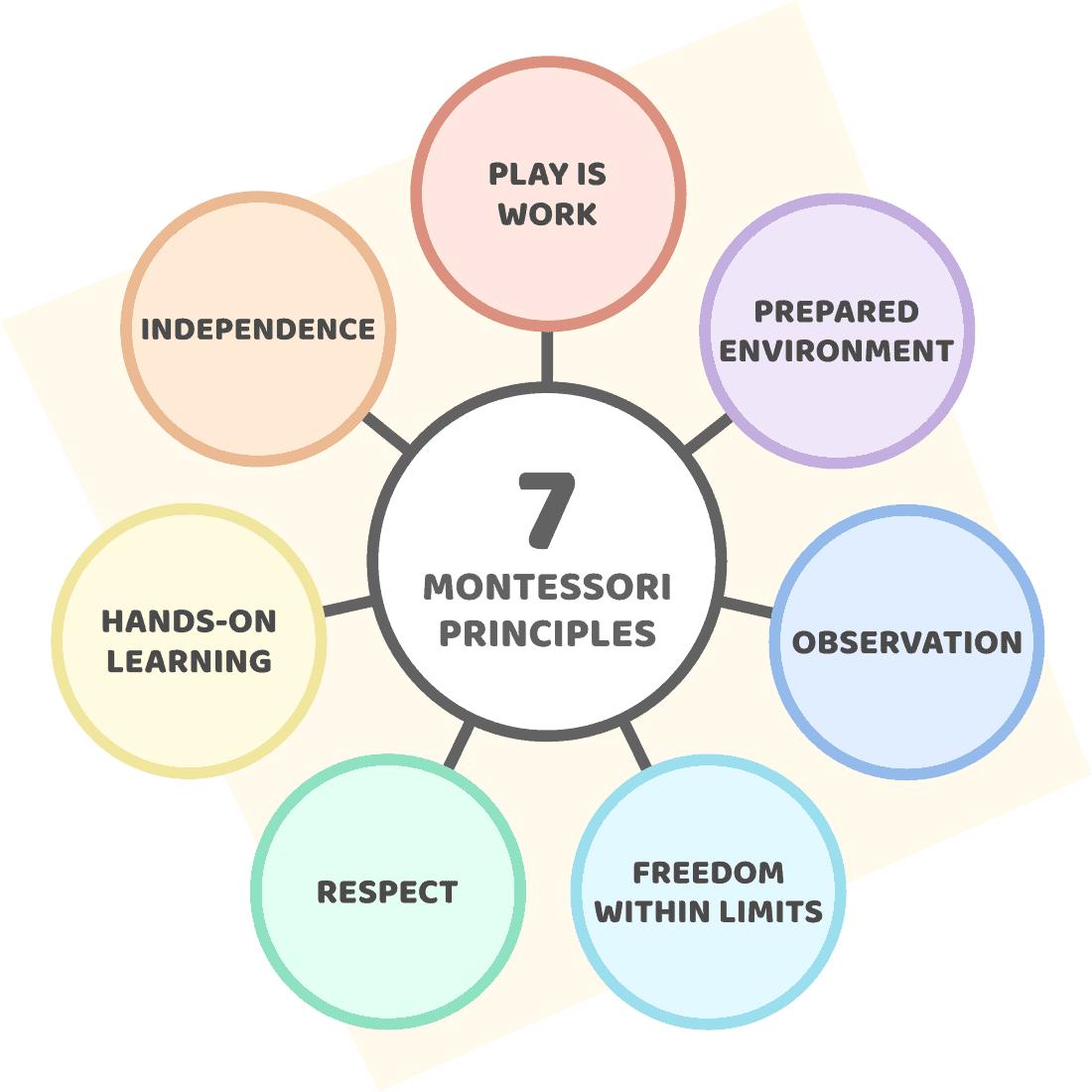 The principles of Montessori education