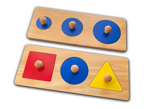 multi shape wooden puzzle
