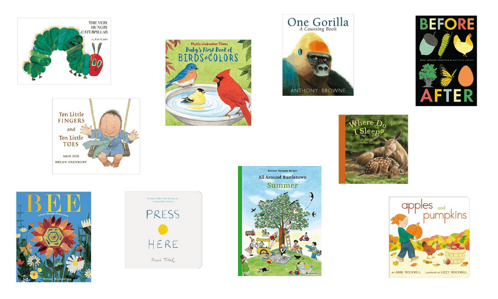 montessori books for toddlers covers